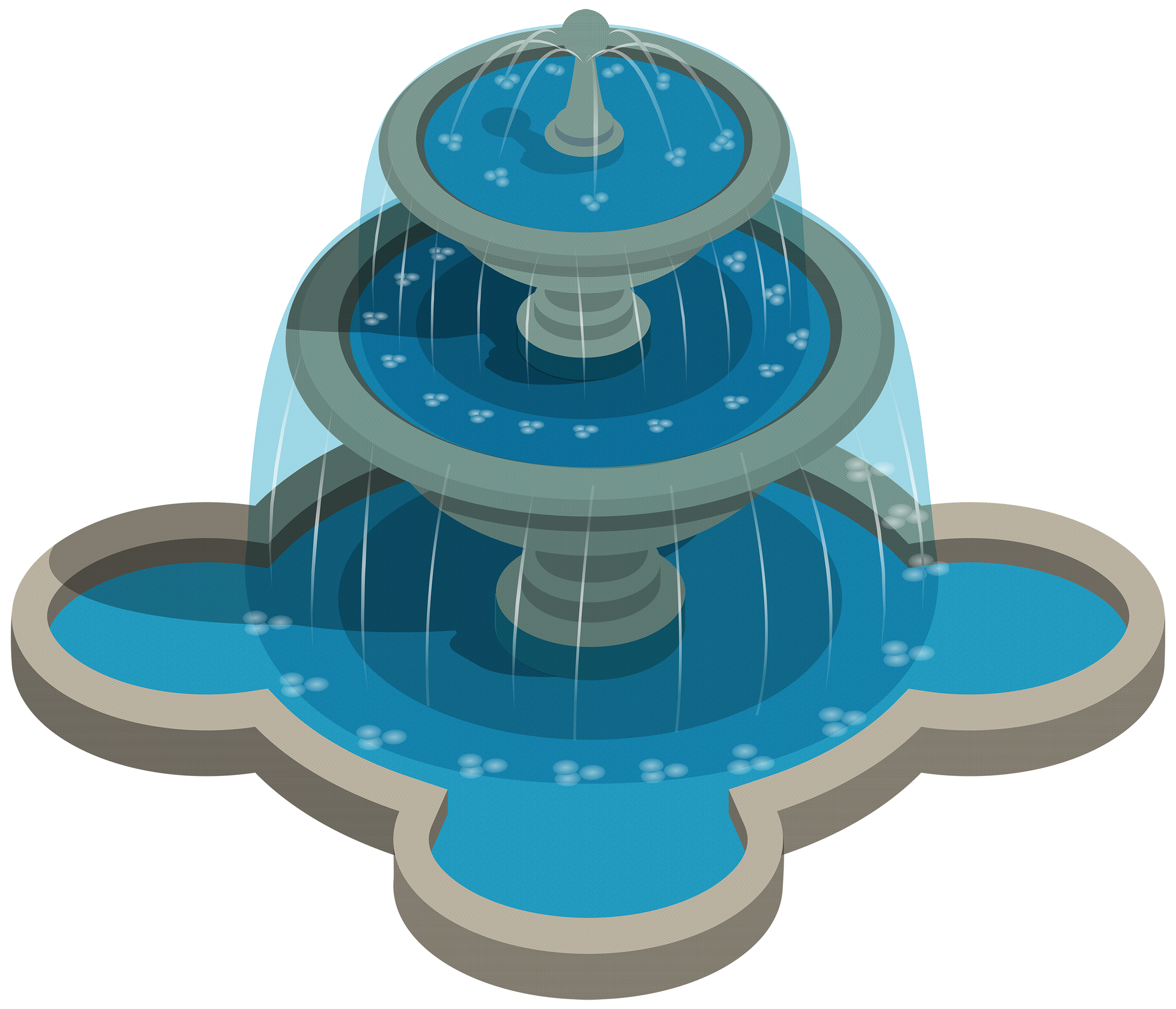School water fountain clipart vector library library Water Fountain PNG Clipart | Clipart | Pinterest | Water fountains ... vector library library