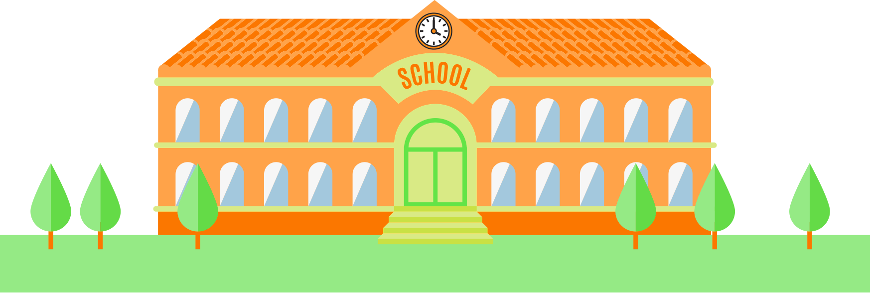 School windows clipart picture transparent library Ridgewood After School Program | Spirit TaeKwonDo picture transparent library