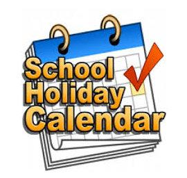 School year calendar clipart picture free stock St Thomas\' Leesfield C of E Primary School - Holiday Calendar picture free stock