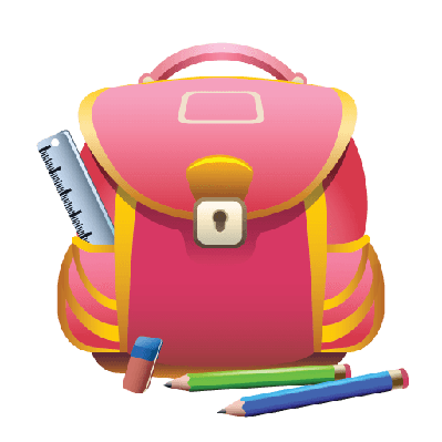 Schoolbsag clipart svg freeuse download School Bag and Pencils | Clipart | PBS LearningMedia svg freeuse download