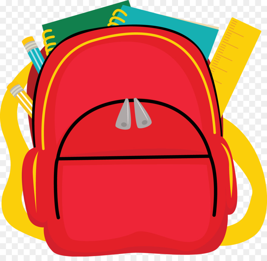 Schoolbsag clipart jpg freeuse stock School Bag Cartoon clipart - Backpack, Bag, School ... jpg freeuse stock