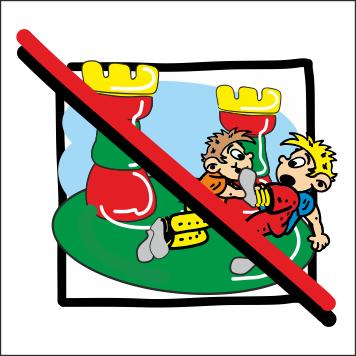 Schubsen clipart graphic download Drängeln u Schubsen verboten – Herzlich Willkommen graphic download