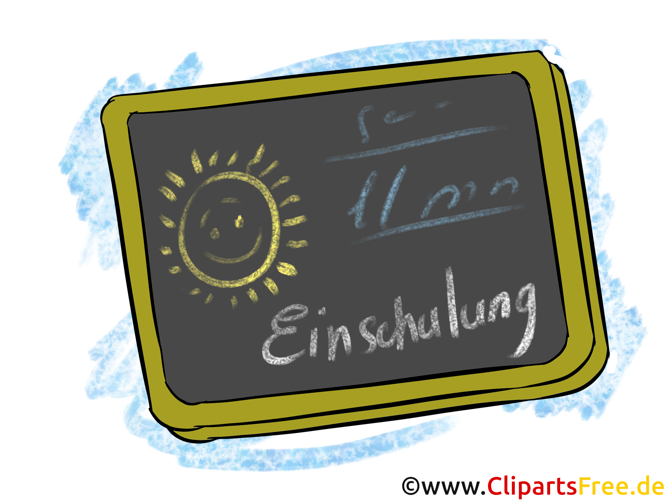 Schulanfang clipart kostenlos image transparent Schultafel Bild, Clipart, Grafik zum Schulanfang image transparent