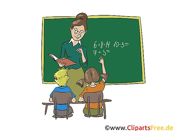 Schule clipart transparent download Clipart Schule, Lehrerin, Schüler, Schultafel grün, Unterricht transparent download