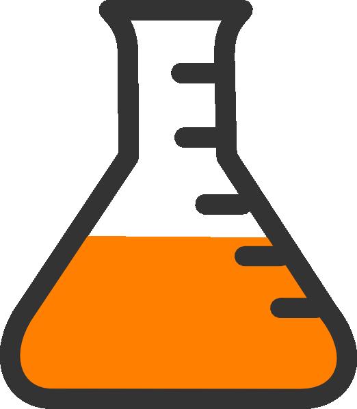 Science bottles clipart banner black and white Lab Bottle Clip Art at Clker.com - vector clip art online ... banner black and white