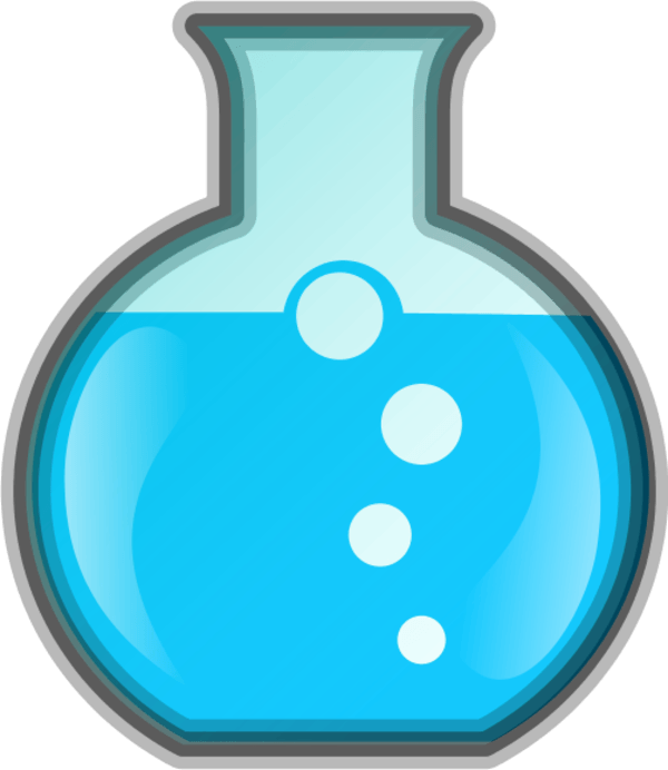 Science bottle clipart