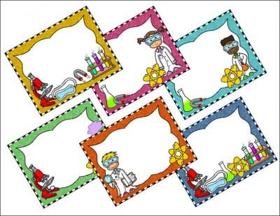 Science clip art borders clip stock Free science clipart and borders - ClipartFest clip stock