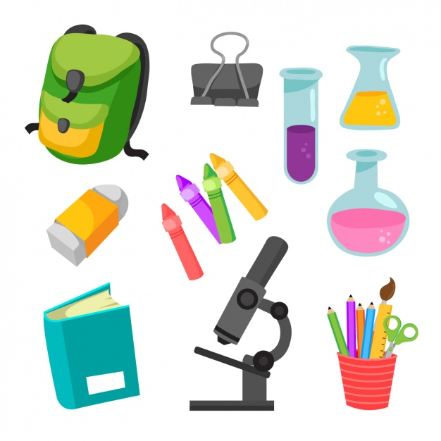 Science elements clipart image download Science elements collection Vector | Free Download image download