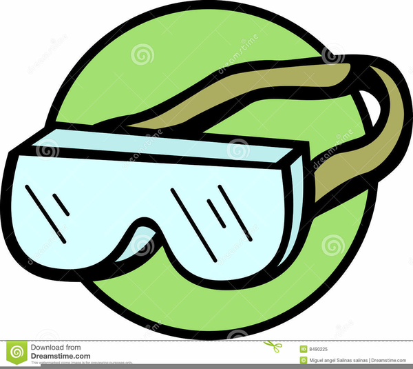Science goggles clipart jpg free download Safety Goggles Clipart | Free Images at Clker.com - vector ... jpg free download