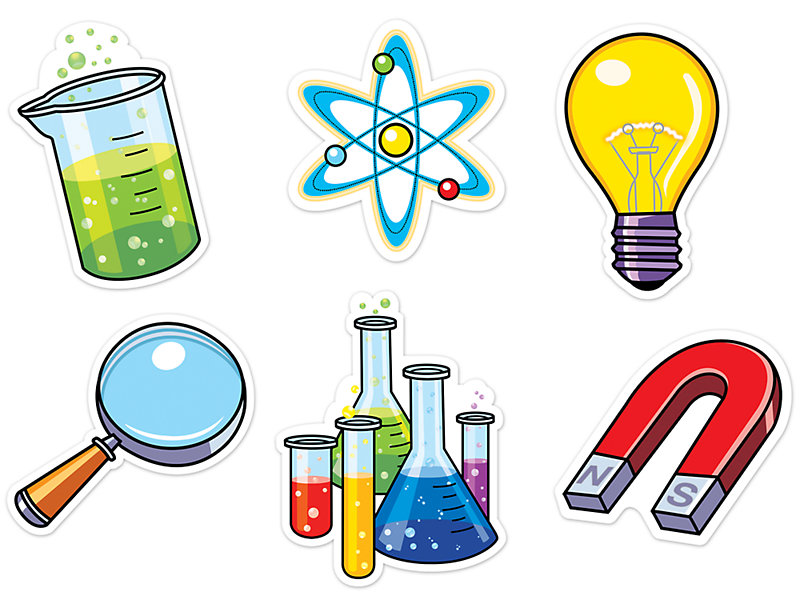 Science lab equipment clipart freeuse download Science Lab Accents freeuse download