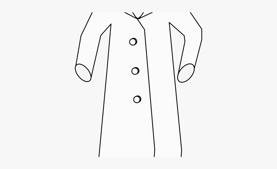 Science lab safety clipart in black and white free stock Laboratory Clipart Lab Safety - White Coat #1002271 - Free ... free stock