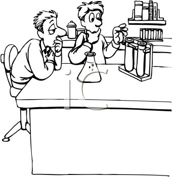 Science lab safety clipart in black and white graphic transparent Chemistry Lab Clipart | Free download best Chemistry Lab ... graphic transparent