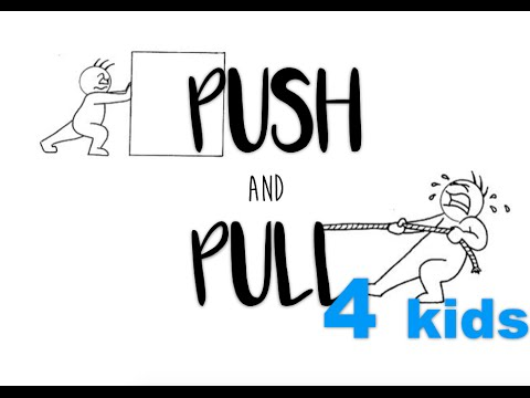 Science push pull clipart graphic freeuse download Push and Pull Forces for Stage One graphic freeuse download
