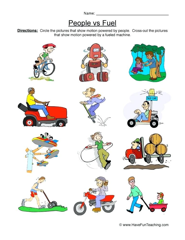 Science push pull clipart transparent stock Collection Of Free Force And Motion Worksheets For Grade ... transparent stock