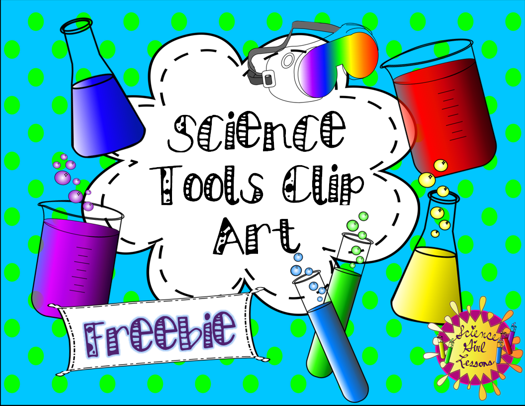 Science tool blank clipart image Science Tools Clip Art {FREEBIE} | TpT FREE LESSONS ... image
