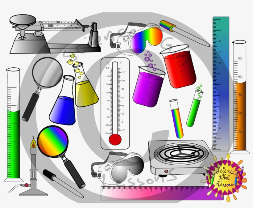 Scientist tools clipart clip art black and white download Science Lab Png High Quality Image - Clip Art Science Tools ... clip art black and white download