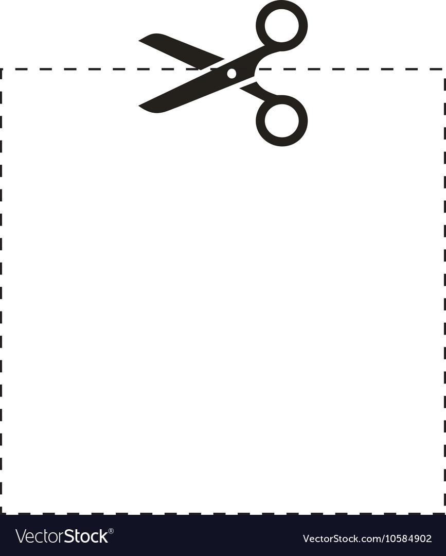 Scissor cut line clipart clipart library download Scissors square cut line clipart library download