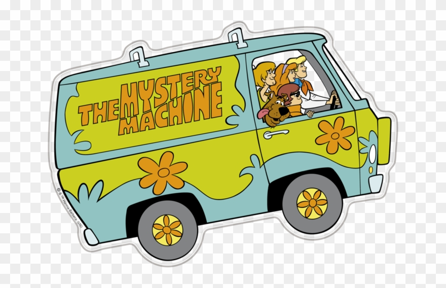 Scooby doo van clipart banner free library Scooby-doo Mystery Machine Premium 3d Character Fan - Scooby ... banner free library