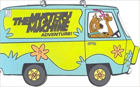 Scooby doo van clipart png black and white stock Scooby-Doo!The Mystery Machine Adventure!: Dena Neusner ... png black and white stock