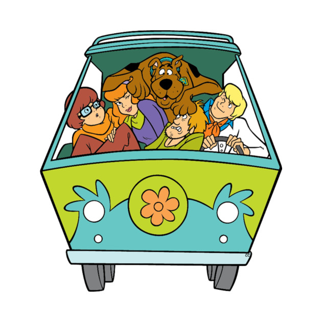 Scooby doo van clipart svg transparent download Scooby Van svg transparent download