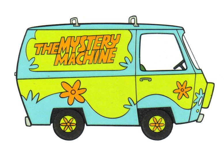 Scooby doo van clipart png stock images of the mystery machines for scooby doo | Scooby Doo ... png stock