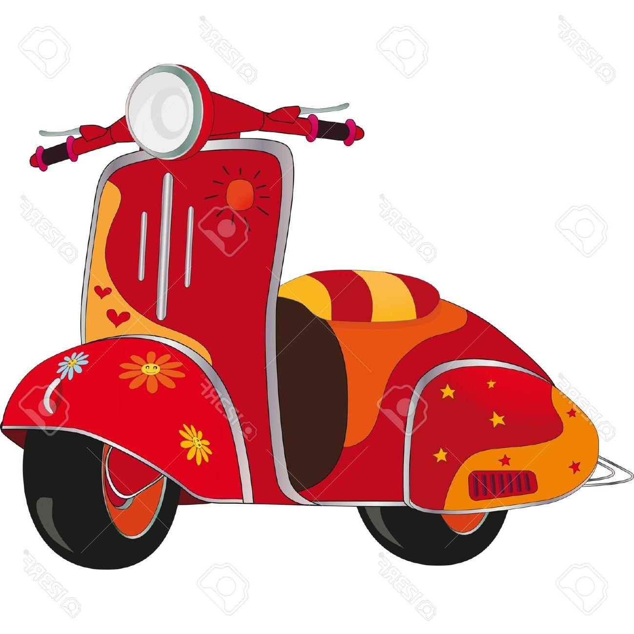 Scooter clipart images svg download Best Motor Scooter Clip Art File Free » Free Vector Art ... svg download