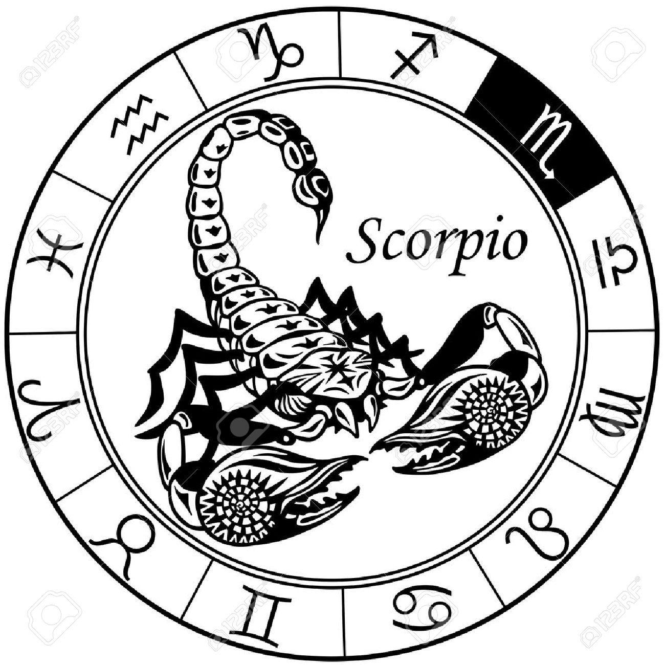 Scorpio astrology clipart image freeuse Stock Vector | poin | Zodiac, Scorpio, Scorpio sun sign image freeuse
