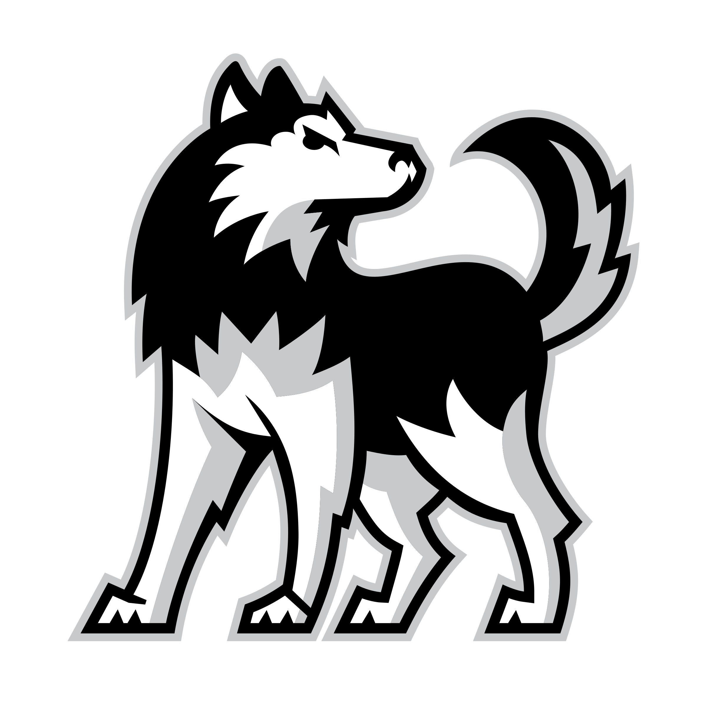 Scorpions football logo clipart picture freeuse NIU Huskies Logo PNG Transparent & SVG Vector - Freebie Supply picture freeuse