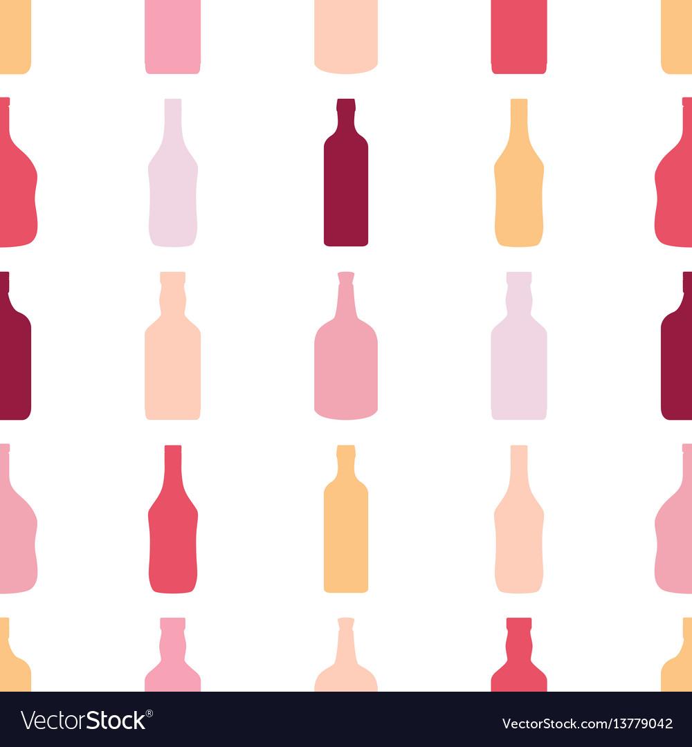 Scotch bottle clipart patterns clip art freeuse library Bottles seamless pattern alcohol rum wine whiskey clip art freeuse library