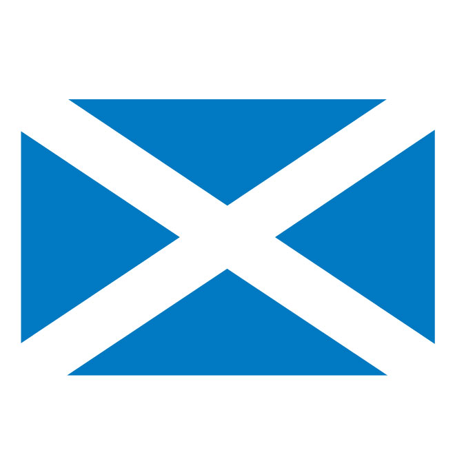 Scotland flag clipart graphic free download Scotland vector flag - Free vector image in AI and EPS format. graphic free download