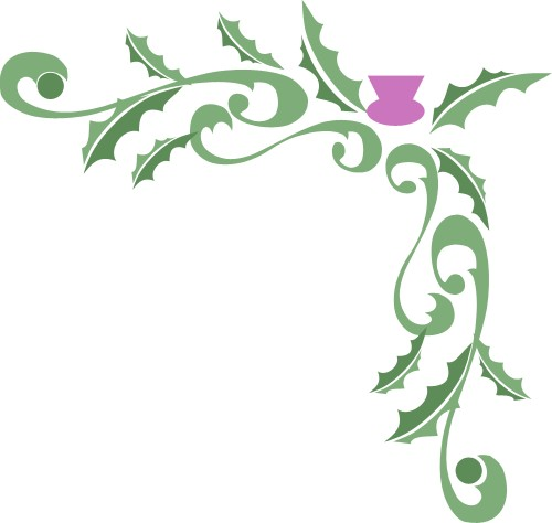 Scottish clipart borders clip transparent library Free Thistle Cliparts, Download Free Clip Art, Free Clip Art ... clip transparent library