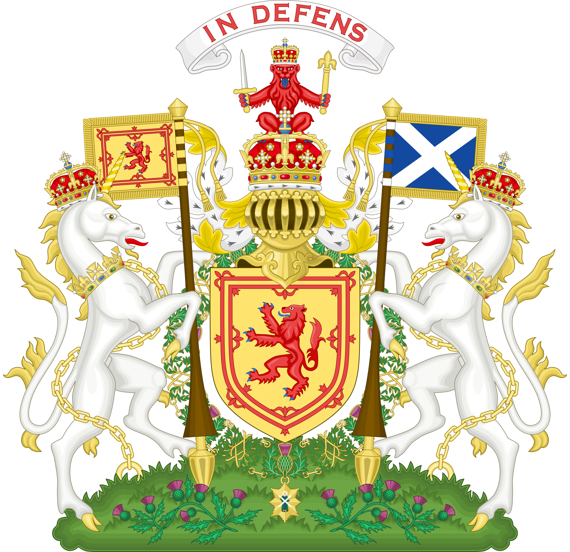 Scottish crown clipart banner free Royal Coat of Arms of the Kingdom of Scotland | Heraldry | Pinterest ... banner free