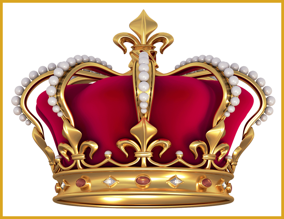 Scottish crown clipart image black and white stock Appealing Red Gold Crown With Pearls Png Clipart Picture Crafting ... image black and white stock