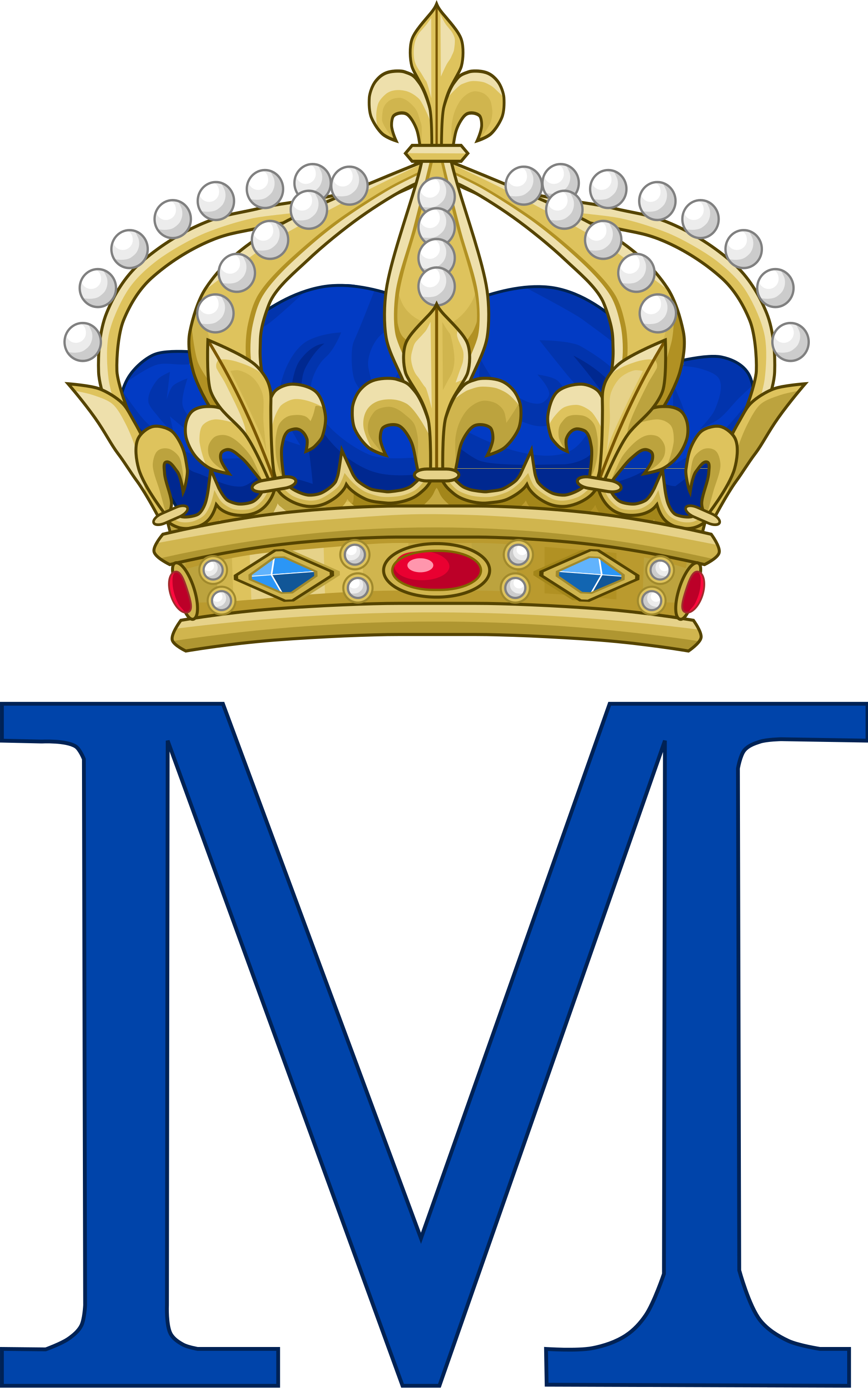 Scottish crown clipart clip library library Mary, Queen of Scots, as Queen of France | Royal Monograms | Pinterest clip library library
