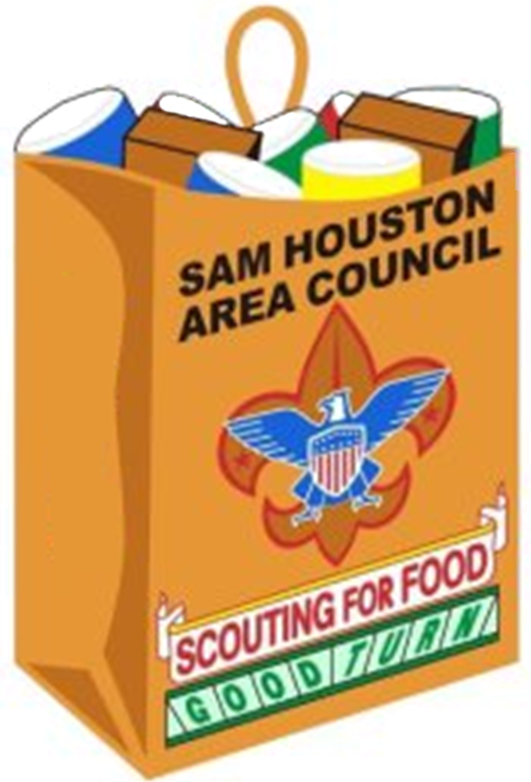Scouting for food clipart svg royalty free Scouting for Food — Sam Houston Area Council svg royalty free