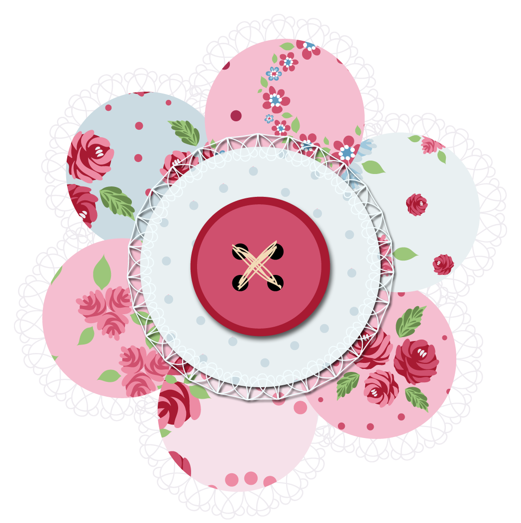 Scrap book clipart png freeuse stock Digital Embellishments | ... SAMPLE – high resolution 'Kath' Flower ... png freeuse stock