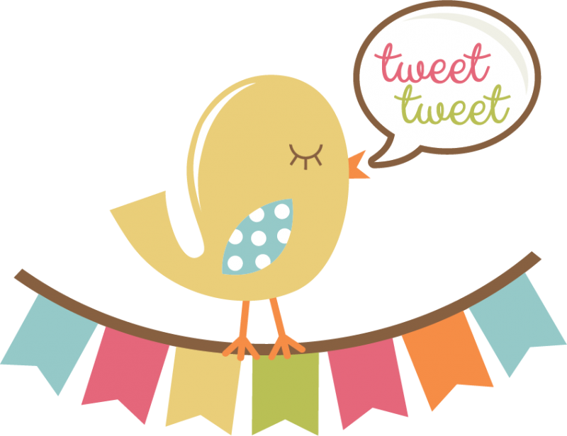 Scrap book clipart vector free stock Tweet Tweet Bird SVG scrapbook title bird svg file cute svg cuts svg ... vector free stock