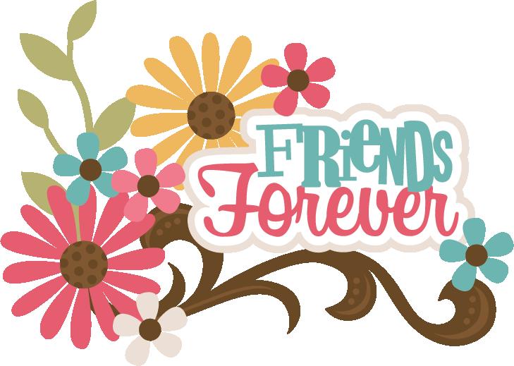 Scrap book clipart image freeuse Friends Forever SVG scrapbook title best friends svg file for ... image freeuse
