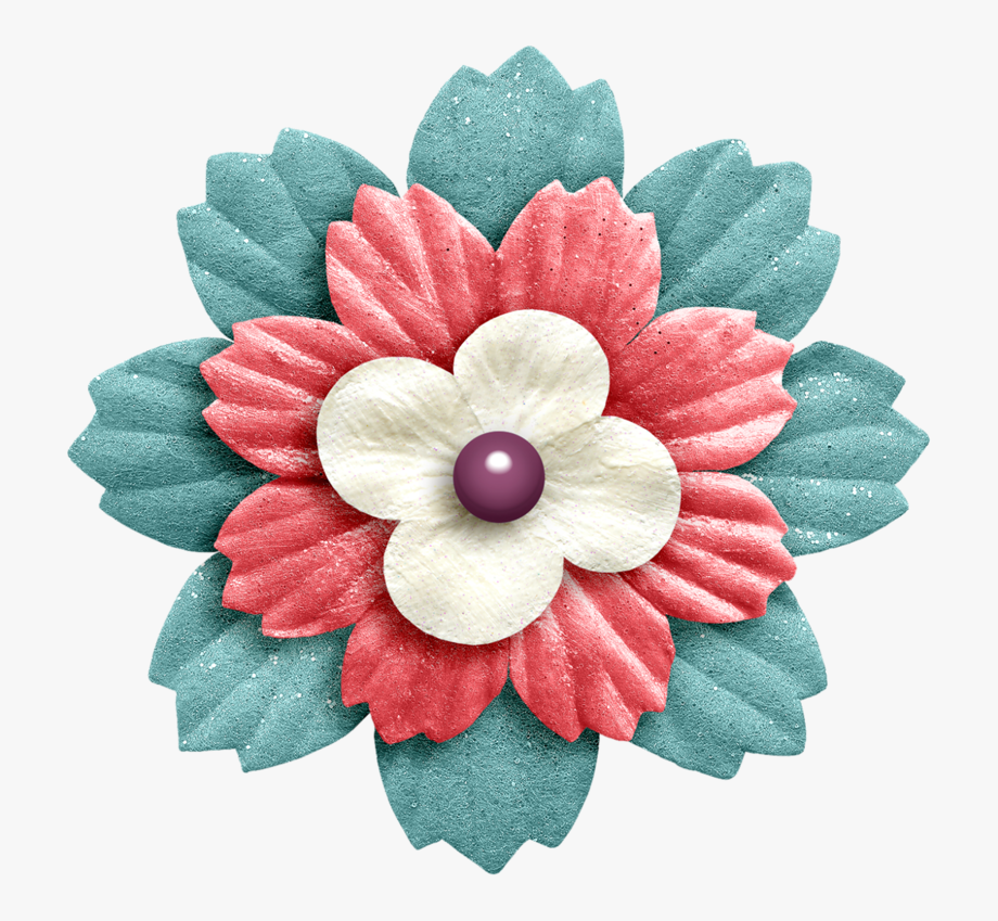 Scrapbook flower clipart svg royalty free download Flower Png Scrapbooking And Clip Art Flowerpng Ⓒ - Flower ... svg royalty free download