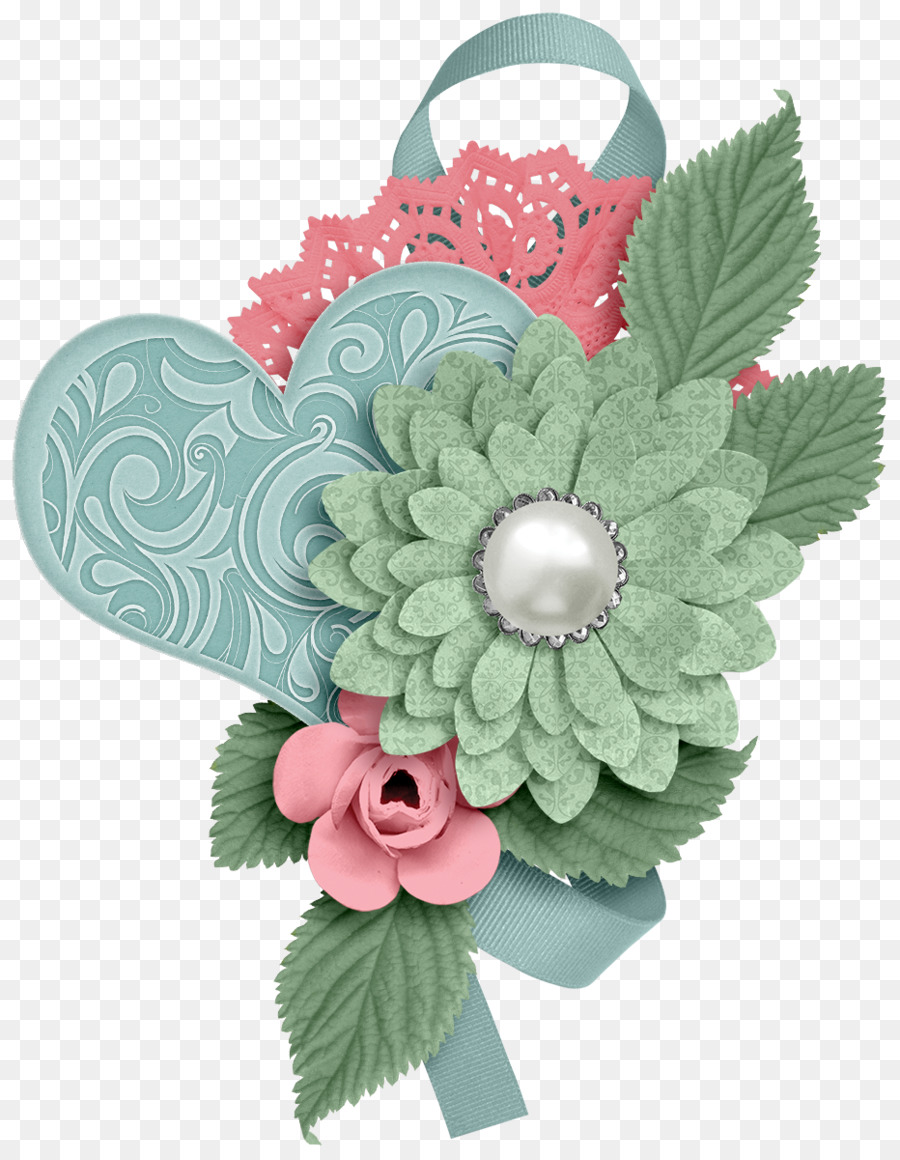 Scrapbook flower clipart banner royalty free Flowers Clipart Background clipart - Flower, Paper, Plant ... banner royalty free