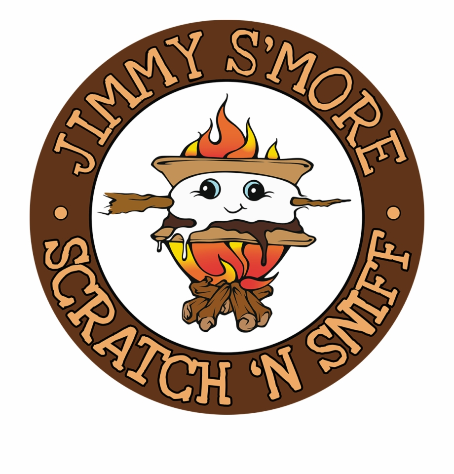 Scratch and sniff clipart graphic free stock S\'mores Whiffer Stickers Scratch & Sniff Stickers Free PNG ... graphic free stock