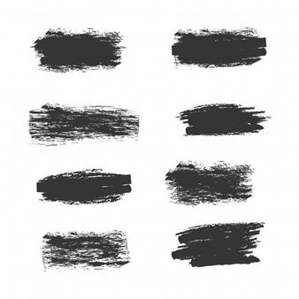 Scratch brush clipart image black and white stock Scratches Vectors, Photos and PSD files | Free Download image black and white stock