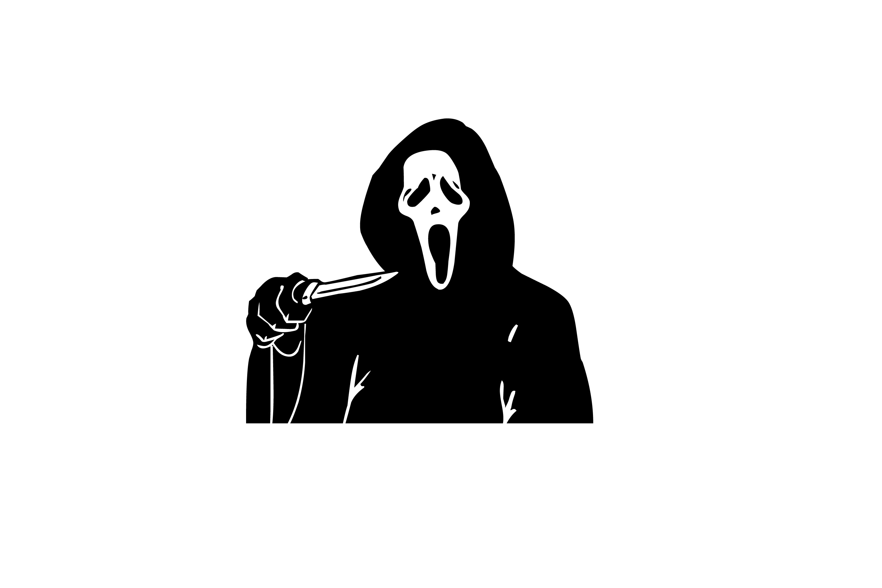 Scream mask clipart png royalty free stock Image of scream mask | CreepyHalloweenImages png royalty free stock