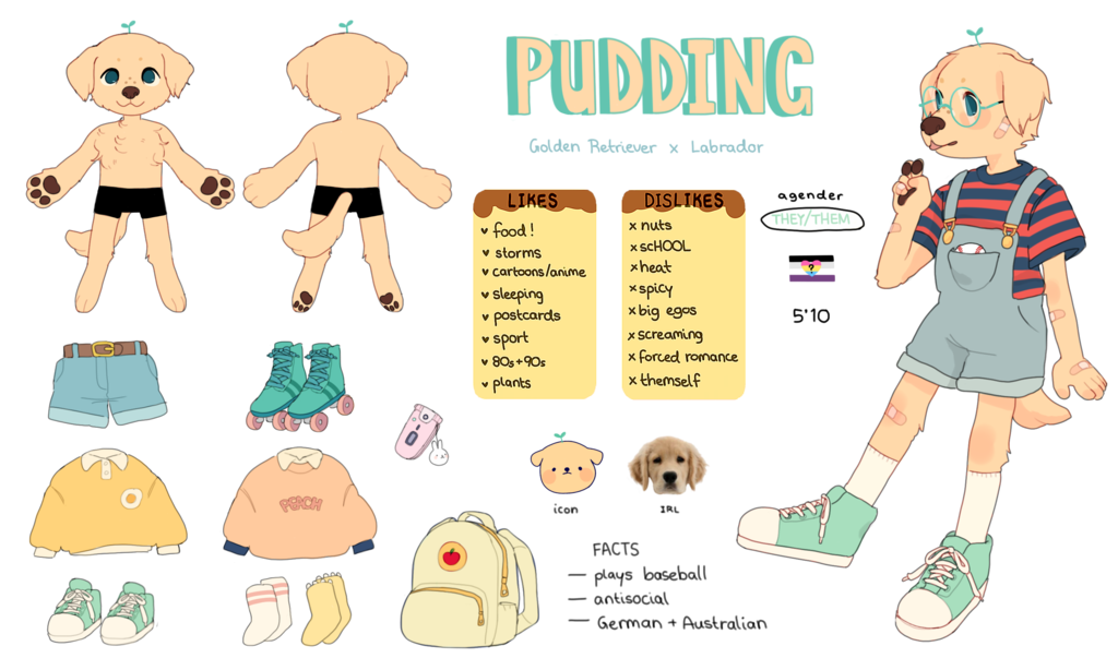 Screaming baseball clipart vector download Old Pudding Reference Sheet by Luxjii on DeviantArt vector download