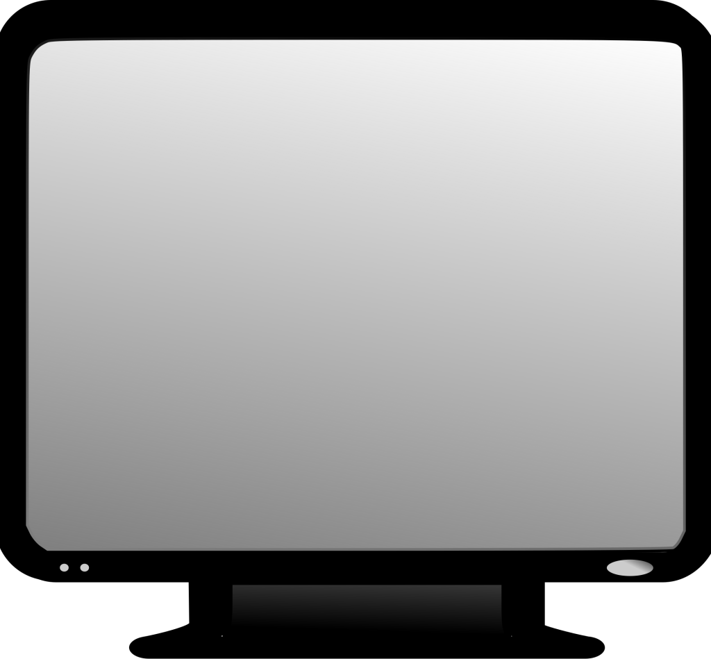 Screen clipart picture library stock Led Lcd Tv Monitor Screen Clipart Icon | Daily Cliparts picture library stock