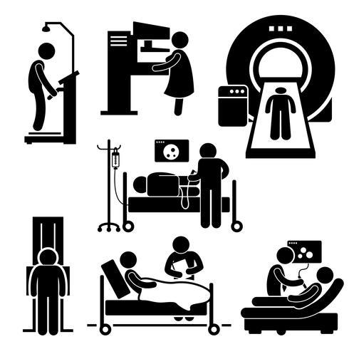 Screening clipart clip black and white library Hospital Medical Checkup Screening Diagnosis Diagnostic ... clip black and white library