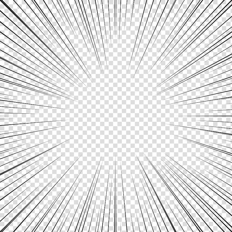 Screentone cliparts transparent Screentones action lines , black lines transparent ... transparent
