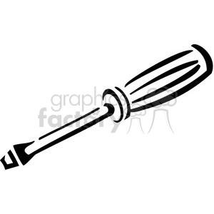 Screwdriver clipart black and white image royalty free library black and white screwdriver clipart. Royalty-free clipart # 384974 image royalty free library