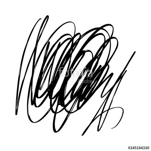 Scriblle clipart jpg Abstract grunge spot, brush strokes, scribble. Vector ... jpg