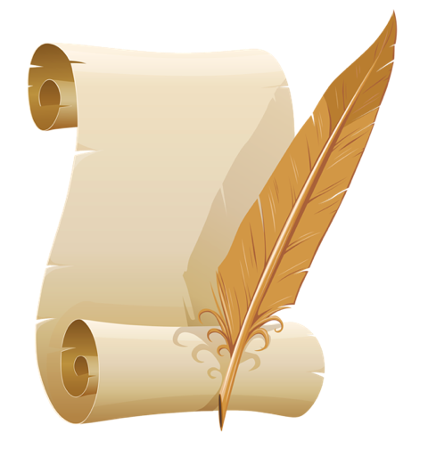 Scroll and quill clipart clip freeuse library Scroll and quill clipart clipart images gallery for free ... clip freeuse library